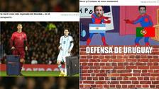 Cristiano Ronaldo es víctima de los memes tras la eliminación de Portugal