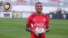 Tondela CD tiene en la mira al volante de la Selección Peruana, Sergio Peña