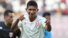 Edison Flores regresó al estadio Monumental con un curioso disfraz