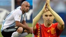 Las estrellas que jugaron su último mundial en Rusia 2018
