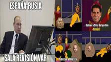 Los memes de la increíble eliminación de España en Rusia 2018