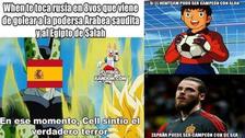 Los memes del España vs Rusia por octavos de final en Rusia 2018
