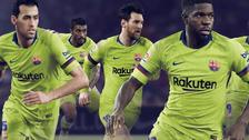 Barcelona presentó su nueva camiseta alterna