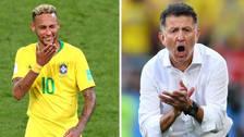 La guerra verbal entre Neymar y la Selección de México
