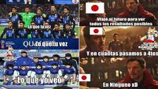Japón es víctima de los memes tras perder ante Bélgica