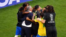Rusia 2018: Tité se mandó con gran corrida en segundo gol de Brasil