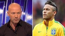 Alan Shearer criticó la actuación de Neymar ante México
