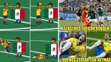 Los memes calientan la previa al duelo entre México y Brasil