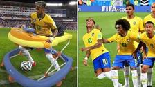 Neymar es protagonista de los memes tras el triunfo de Brasil ante México