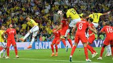 ¡Salvador! El agónico gol de Yerry Mina para evitar la derrota de Colombia