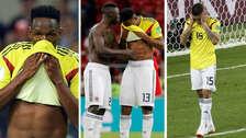 El sufrimiento de los colombianos al ser eliminados del Mundial Rusia 2018