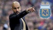 ¿Qué dijo Guardiola cuando fue consultado sobre si dirigiría a Argentina?