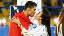La romántica bienvenida de Georgina Rodríguez a Cristiano Ronaldo