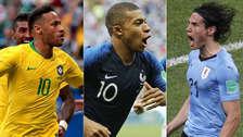 Mbappé y el once ideal de los octavos de final del Mundial Rusia 2018