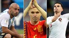 Rusia 2018: 9 cracks que no veremos más en una Copa del Mundo
