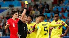 FIFA sancionará al árbitro del partido que dirigió el Colombia vs. Inglaterra