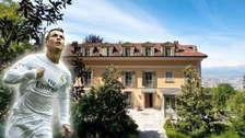 ¿Será esta la mansión de Cristiano Ronaldo en Italia?