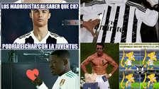 Cristiano Ronaldo es víctima de los memes por su posible fichaje a Juventus