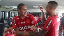 Paolo Guerrero lució extraño polo y es víctima de bromas en Flamengo