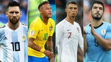 Las estrellas que no jugarán la recta final del Mundial Rusia 2018