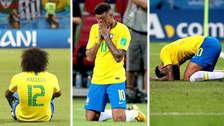 La tristeza de los brasileños tras ser eliminados del Mundial Rusia 2018