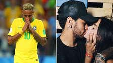 El tierno mensaje de Bruna Marquezine para Neymar tras quedar fuera de del Mundial