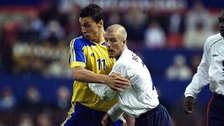 La apuesta entre Beckham e Ibrahimovic para el duelo de Inglaterra y Suecia