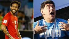 El polémico comentario del chileno Jorge Valdivia hacia Diego Maradona