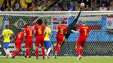 Courtois arremetió contra Brasil: ya se creían campeones