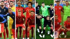 El valor de las selecciones que estarán en semifinales de Rusia 2018