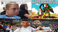 Los mejores memes que dejaron los duelos de cuartos de final del Mundial