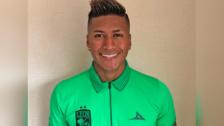 León de México le dio la bienvenida a Pedro Aquino tras jugar en Rusia 2018