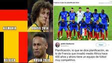 Francia vs. Bélgica: los 10 mejores memes por la semifinal de Rusia 2018