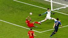 La tapada de Thibaut Courtois que evitó gol de Francia