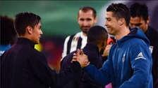 Nuevo socio: Paulo Dybala le dio la bienvenida a Cristiano Ronaldo