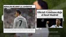 Cristiano Ronaldo deja el Real Madrid: las portadas de su partida a la Juventus