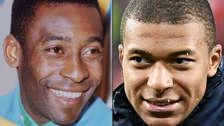 De Pelé a Mbappé: los mejores adolescentes en la historia de los mundiales