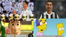 Cristiano Ronaldo es protagonista de los memes tras su salida del Real Madrid