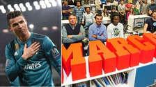 La emotiva portada que le dedicó el diario Marca a Cristiano Ronaldo