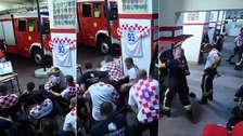 Bomberos en Croacia no vieron pase a semifinal por atender emergencia