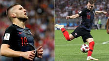 Inglaterra vs. Croacia: Ante Rebic y la jugada de gol que se falló