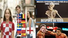 Croacia a la final: protagonizó los memes al vencer a Inglaterra