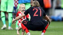 Rumbo a la final: hijo de Vida se robó el show en el festejo de Croacia