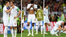 Así fue el lamento de los jugadores de Inglaterra tras perder ante Croacia