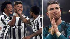Dybala y Douglas Costa se burlaron de Cuadrado por culpa de Cristiano Ronaldo