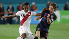 Técnico de Croacia recordó a Perú previo a la final del Mundial