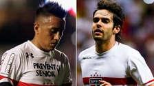 Kaká se refirió a Christian Cueva sobre su futuro futbolístico