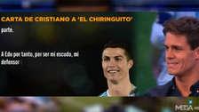 Cristiano Ronaldo le dedicó una emotiva carta a un conocido programa español