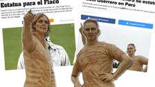 Así reaccionó la prensa internacional por las estatuas de Gareca y Guerrero