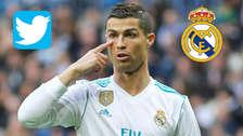 Efecto Cristiano: Real Madrid sufre un duro golpe en su cuenta de Twitter
